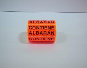 ETIQUETA CONTIENE ALBARAN