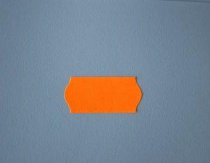 etiquetas 26x12 naranja