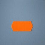 etiqueta 26x12 naranja