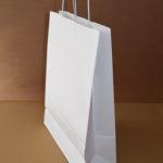 bolsas de papel con asa retorcida