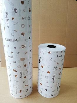 rollos de papel para pastelería