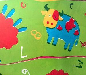 rollo papel regalo infantil