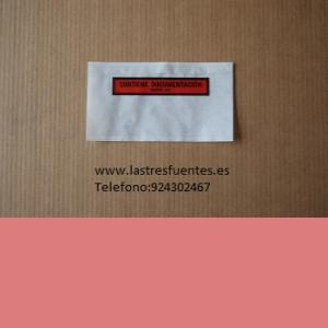 PACKING LIST DOCUMENTACION SOBRES