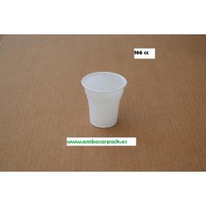 vaso plástico 166 cc irrompible blanco