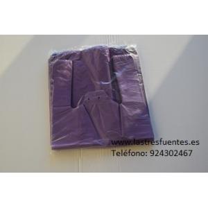 Bolsa Camiseta Lila 42X53