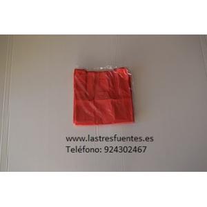 Bolsa Camiseta Roja 42X53