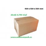 Cajas carton 420x320x320