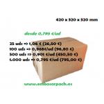 Cajas carton 420x320x320 precios