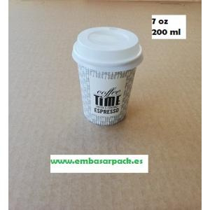 VASO PAPEL 7 OZ 200 ML