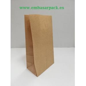 Bolsas papel kraft SOS sin asa