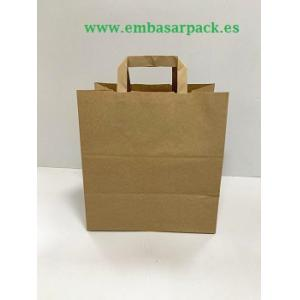 Bolsa take away kraft reciclado